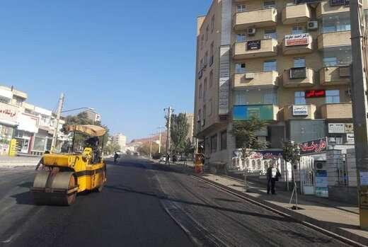 پایان آسفالت ریزی اساسی در پنج جبهه کاری تا چند روز آینده