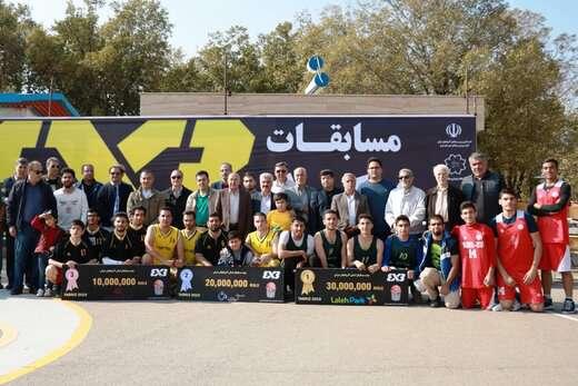 تیم های برتر مسابقات بسکتبال خیابانی مشخص شد
