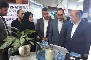 حضور اداره راه و شهرسازی مازندران در  نمایشگاه دستاوردهای پدافند غیر عامل این استان