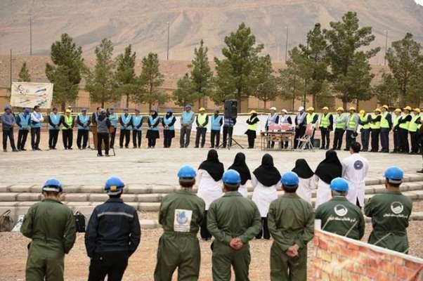 در مرحله   اول مسابقات  استانی  مهارتهای فنی و تخصصی بهره برداری شرکتهای آب وفاضلاب کشور ۱۷۸ تیم در اصفهان به رقابت پرداختند
