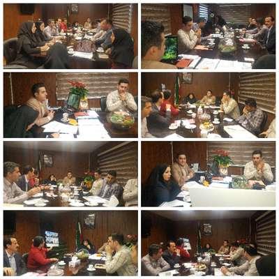 گزارش تصویری از جلسه مشترک مدیر عامل سازمان سیما و منظر با شهرار منطقه 3