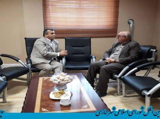 عضو هیئت رئیسه شورای اسلامی شهر ساری در بازدید از سامانه 137 شهر ساری:
