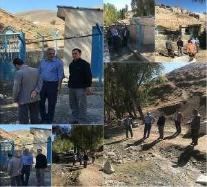 رفع مشکل کمبود آب شرب روستای قاشقابلاغ شهرستان خوی...