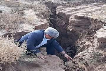 هشدار فرونشست زمین در اصفهان