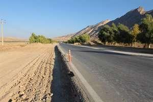 اجراي عمليات چهارخطه خروجي دره شهر در استان ايلام  با 30درصد پيشرفت فيزيكي