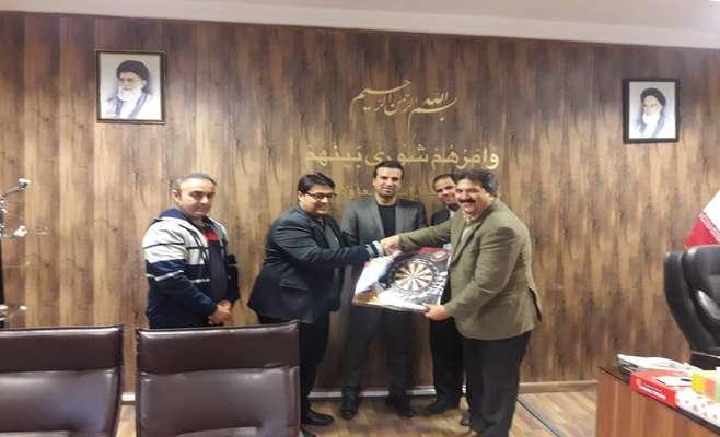 دیدار رئیس انجمن دارت کشور با رئیس شورای اسلامی شهر سنندج