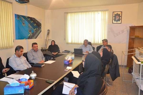 بازدید اعضای کمیته تخصصی برنامه ایمنی فاضلاب از تصفیه خانه فاضلاب شهر ارومیه