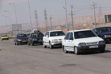 تردد بیش از  ۴ میلیون  و ۸۰۰ هزار خودرو در محورهای مواصلاتی استان سمنان در تعطیلات پایانی ماه صفر