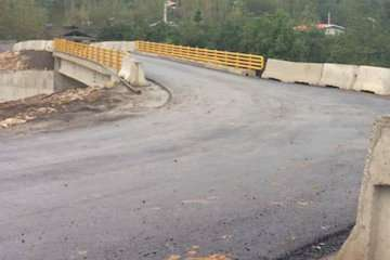 پل راه روستایی امامزاده یکشوب بابل آماده افتتاح و بهرهبرداری است