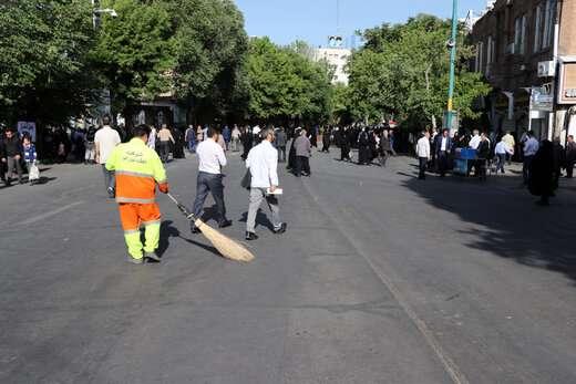 اجرای طرح ارزیابی عملکرد خدمات شهری مناطق دهگانه شهرداری تبریز