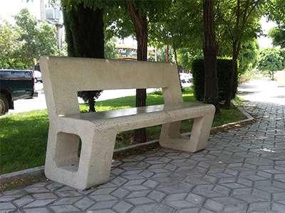 در شش ماه نخست امسال430 عدد مبلمان بتنی در فضای سبز قزوین نصب شده است
