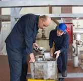 تعمیر قطعه حساس توربین بخار نیروگاه بیستون بهدست متخصصان داخلی