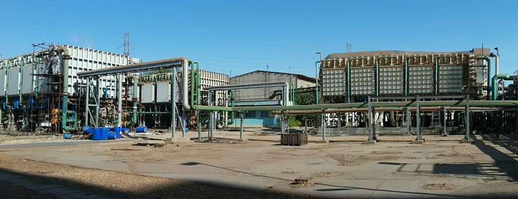 آماده سازی فید پمپ رزرو آب شیرین کن نیروگاه بندرعباس بعد از شش سال