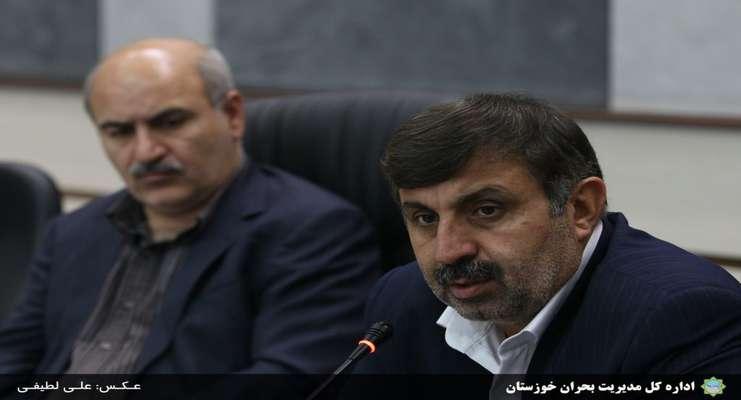 پانزدهمین جلسه کمیته علمی، آموزشی و فنی ستاد مدیریت بحران خوزستان برگزار شد
