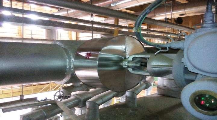 فاز دوم پروژه عایق کاری تجهیزات نیروگاه شهید رجایی قزوین آغاز شد