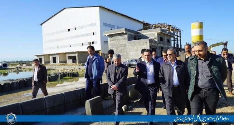 عزم جدی شهرداری برای تکمیل کارخانه زبالهسوز ساری