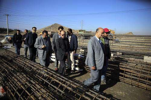 پروژههای عمرانی باید در موعد مقرر و طبق برنامه  ...