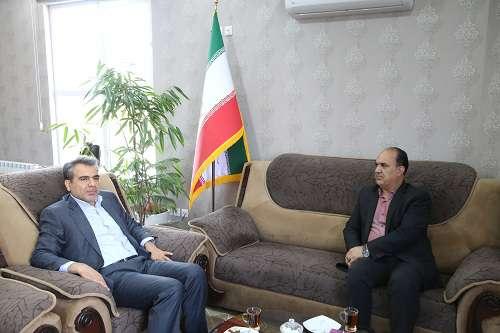 دیدار مهندس نوازنی با مدیرعامل شرکت آب منطقه ای کرمان