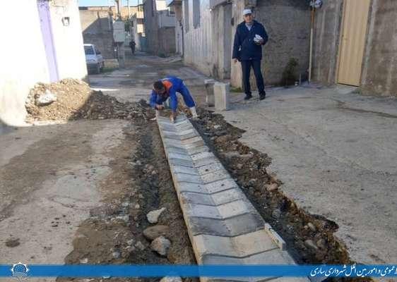 احداث کانال هدایت آب های سطحی