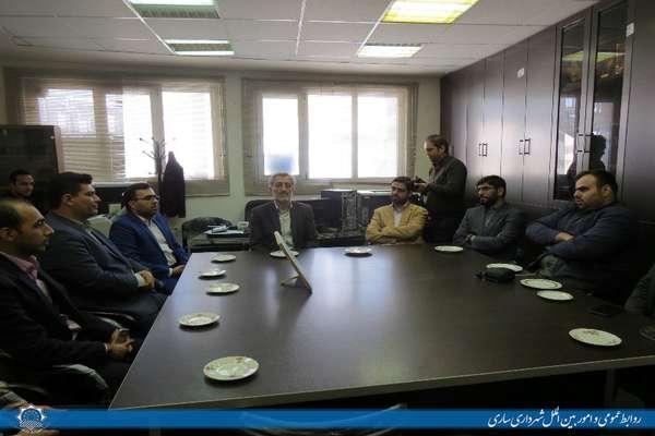 رزمایش پدافند سایبری در شهرداری ساری