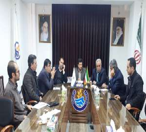 جلسه رفع معارضات اجرای پروژه های آبرسانی به روستاه...