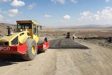 احیای راه روستایی با استفاده از روکش بتن غلطکی در استان همدان