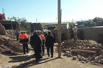 بازسازی ۷۰ درصد واحدهای مسکونی پیش از  زلزله علت کاهش خسارت در کانون زلزله /  ۲۹۴۵ واحد مسکونی، ۶۵ روستا و ۶ پل آسیب دید