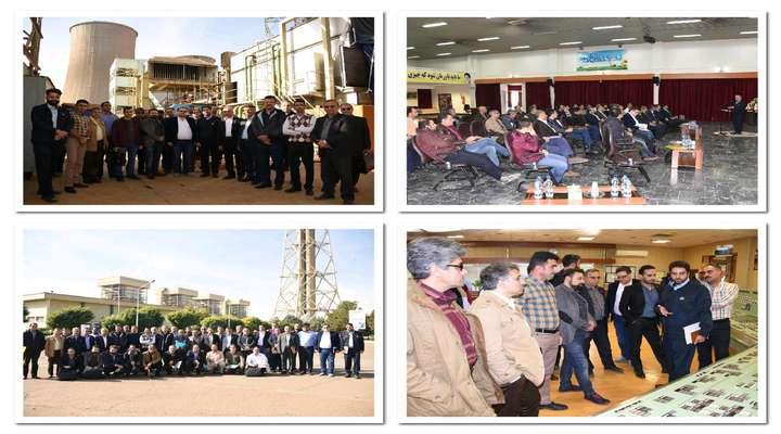 با حضور مدیران الکتریک نیروگاه های کشور در نیروگاه شهید رجایی قزوین برگزار شد/ نشست تخصصی اعضای کمیته الکتریک شرکت تولید برق حرارتی