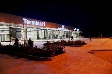 بهره برداری آزمایشی از ترمینال خارجی فرودگاه اردبیل