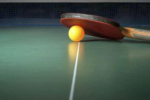 مسابقه انتخابی تنیس روی میز بانوان کارمند شهرداری برگزار میشود