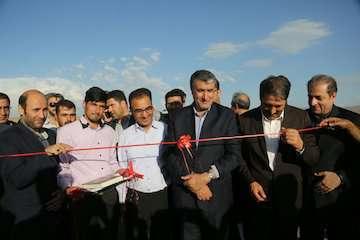 افتتاح  ۱۹ پروژه عمرانی یزد توسط وزیر راه و شهرسازی همزمان با سفر رییسجمهوری