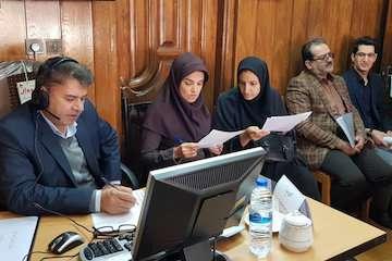 حضور مدیرکل راه و شهرسازی خراسان رضوی در محل سامانه سامد و پاسخگویی به سوالات و تماس های مردمی