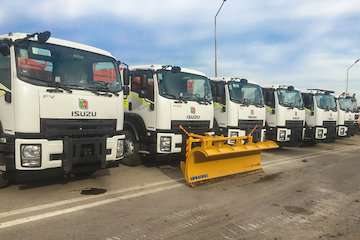 اضافه شدن ۱۸دستگاه ماشینآلات جدید در راهداری مازندران