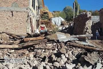 تخصیص ۳۰۰ میلیارد تومانی تسهیلات به زلزله زدگان آذربایجانشرقی/آسیب زلزله به ۴۵۰۰ واحد مسکونی