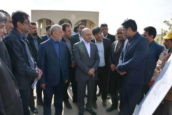 گزارش تصویری از بازدید مهندس جانباز مدیر عامل شرکت مهندسی آب و فاضلاب کشور از پروژه های آبفا استان در زابل