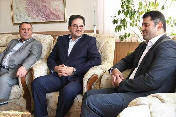 دیدار سرپرست شرکت آب و فاضلاب با معاون جدید استاندار آذربایجانغربی