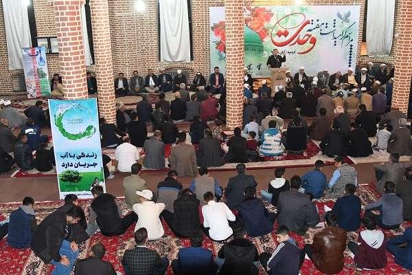 برگزاری مراسم گرامیداشت هفته وحدت در اروميه