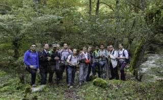 پیمایش مسیر آبشار ویسادار استان گیلان توسط گروه کوهنوردی
