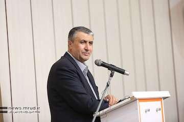 ۸۰۰۰ میلیارد ریال طرح عمرانی با حضور وزیر راه و شهرسازی در یزد افتتاح شد