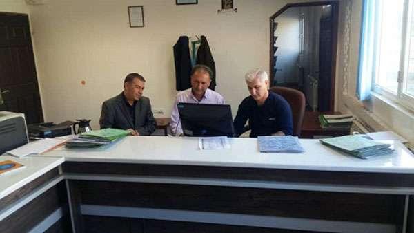 بازديد معاونت خدمات مشترکین و درآمد آبفای استان  از واحد خدمات مشترکین امور آبفای ماکو