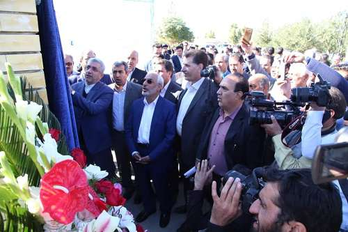 فاز دوم تصفیه فاضلاب شهر کرمان با حضور وزیر نیرو افتتاح شد