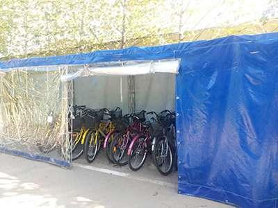 ایستگاه کرایه دوچرخه در پارک بانوان راه اندازی شد