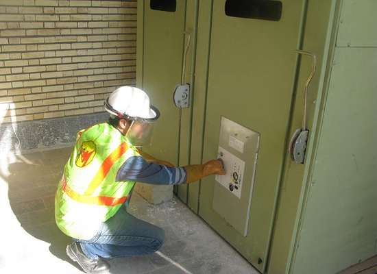 برگزاری مانور تامین برق اضطراری در تصفیه خانه آب کوثر تکاب