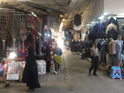 طرح کفسازی و بهسازی راسته ریسمان سنج بازار قزوین در دست تهیه است