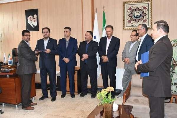 انتصاب سرپرست جدید امور بازرگانی شرکت آب و فاضلاب آذربایجان غربی