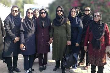 حضور زنان ورزشکار اداره کل راه و شهرسازی استان بوشهر در پویش همگانی هفته سلامت