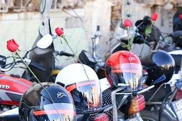 ۲۶۰۰ کلاه ایمنی بین موتورسواران سیستان و بلوچستان  توزیع شد