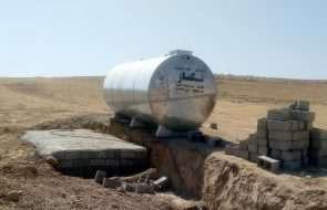 رفع مشکل کم آبی روستاهای شیرین کاریز و شورستان شهرستان کلات