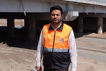 بهرهبرداری از پل باقرآباد بخش جعفریه استان قم