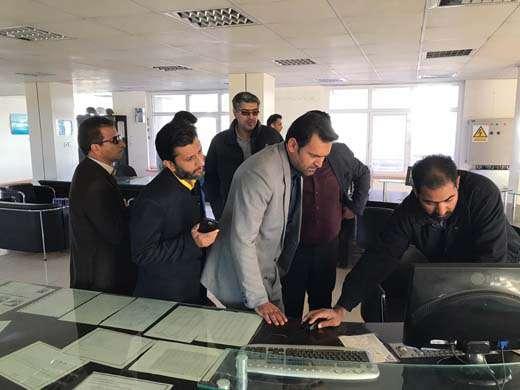 بازدید مدیرکل شورای پدافند غیرعامل استان از تصفیه خانه آب زاهدان